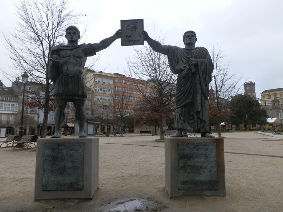homenaje a los fundadores de Lucus.