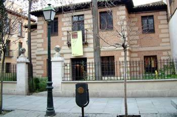 Casa natal del escritor en Alcalá de Henares.