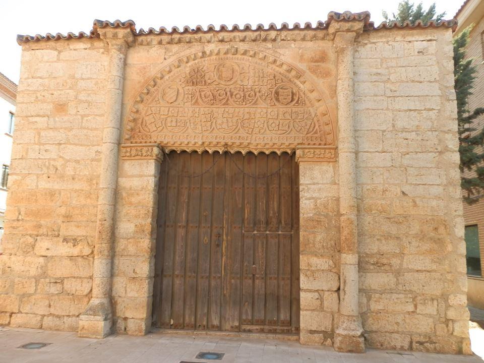 Palacio de las leyes que actualmente sólo conserva la fachada.