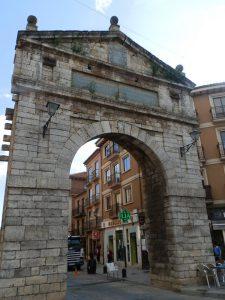 Puerta corredera en homenaje a la visita Felipe III.