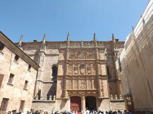 Fachada plateresca Universidad Salamanca