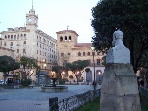 Plaza de los Bandos de Salamanca.